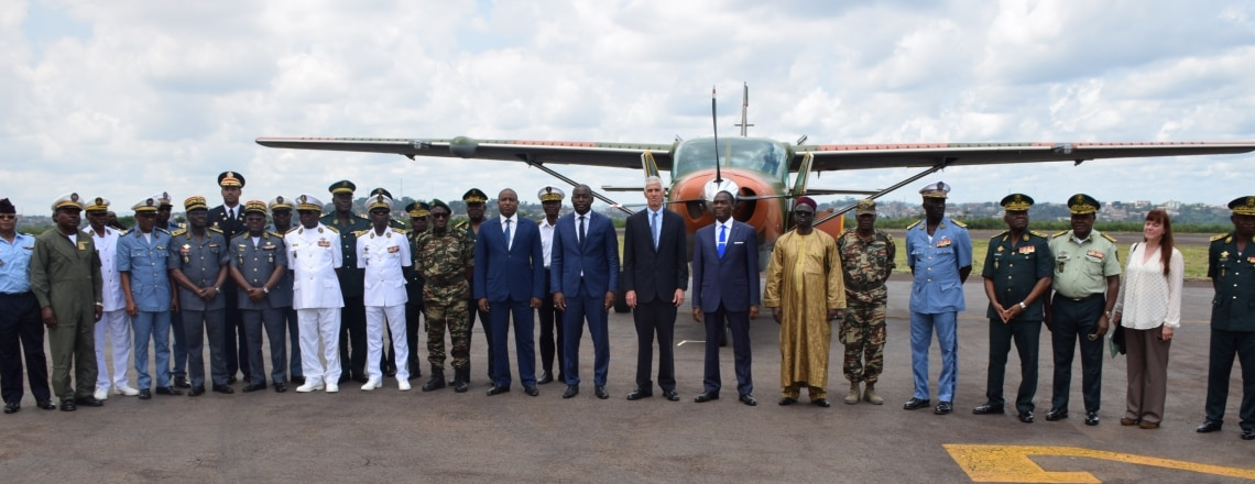 U.S. Embassy Donates Two C-208 CESSNAs  to Cameroon